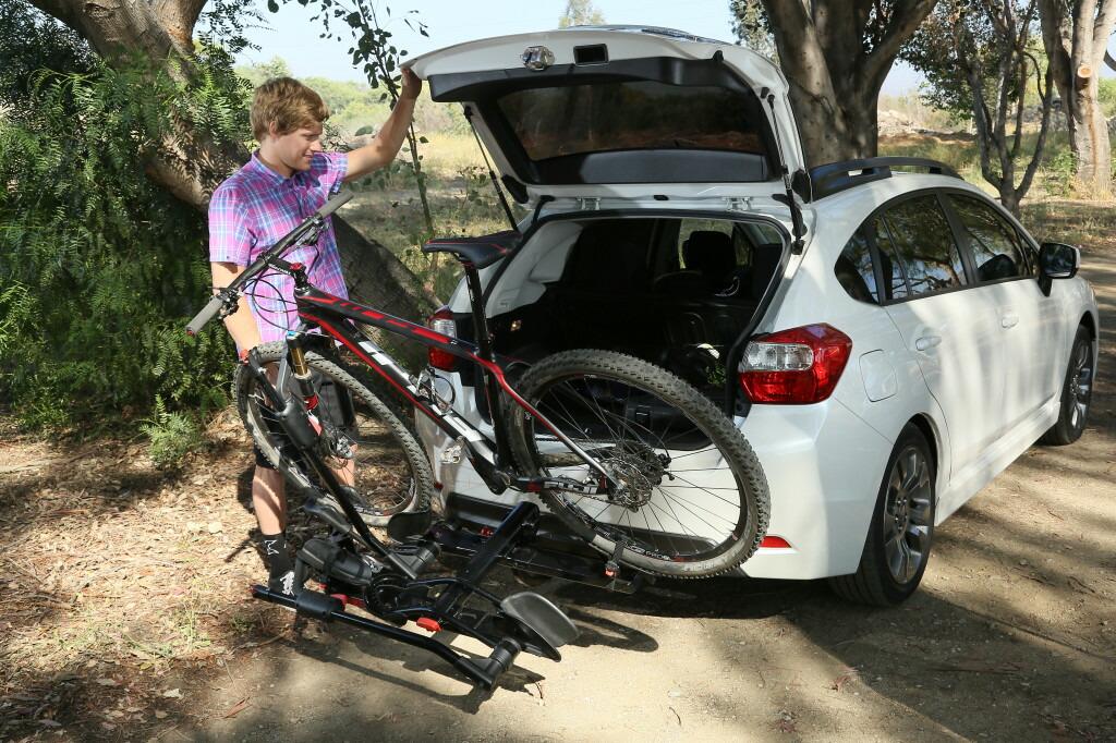 ... 自転車を2台搭載:オートプロ