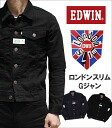 LONDON SLIM (London slim) denim jacket G Jean-ultimate skinny silhouette! EDWIN / Edwin / Edwin / 46289 _ 100 _ 101