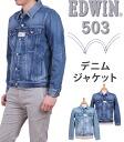 503 G Jean / denim jacket EDWIN / Edwin / Edwin /XV / 503DJ_556_546