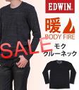 """BODYFIRE' crew neck long sleeve T shirt EDWIN / Edwin / Edwin /BODY FIRE / body fire / 57295 _ 18 _ 02 _ 76 _ 01 fs04gm"