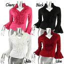 ★Flamenco ★ dance tops ★ social dancing clothes ★ clothes flamenco ★ tango ★ four circle ★ party★