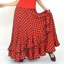WD-lsk1009 dotfalda-DC26 ★ Flamenco costumes flamencofalda Flamenco skirt