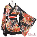 0116 gold piping frill delicateness ring satin mini-kimono dress satin sums pattern mini-high-class prostitute kimono dress kimono style mini-satin good point dark clothes yukata event dance festival good point dark clothes yukata event dance festival da
