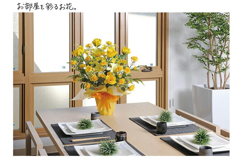 お部屋を彩るお花