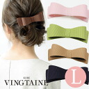 Ribbon Barrette ( L) / Office / simple / simple / Office / hair accessories H-110fs3gm
