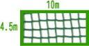 44 baseball eyes ball net 4.5m *10m (tea, blue, black, white, silver gray)-proof
