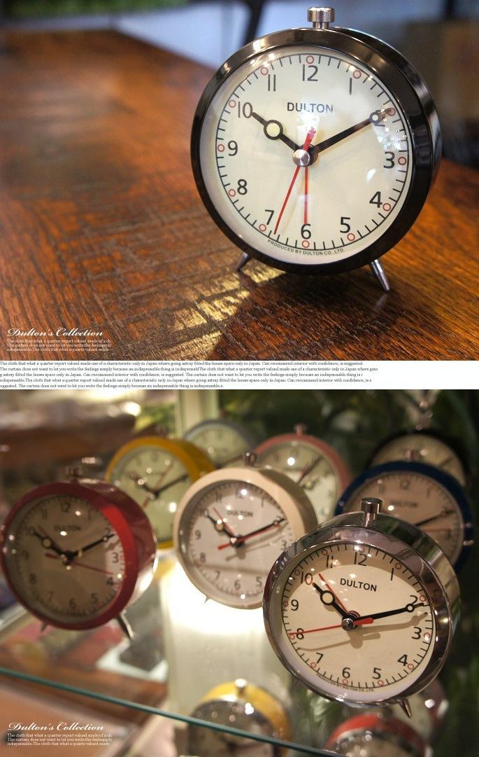 ALARM CLOCK 100-053Q/100-053CR DULTON 全 ...