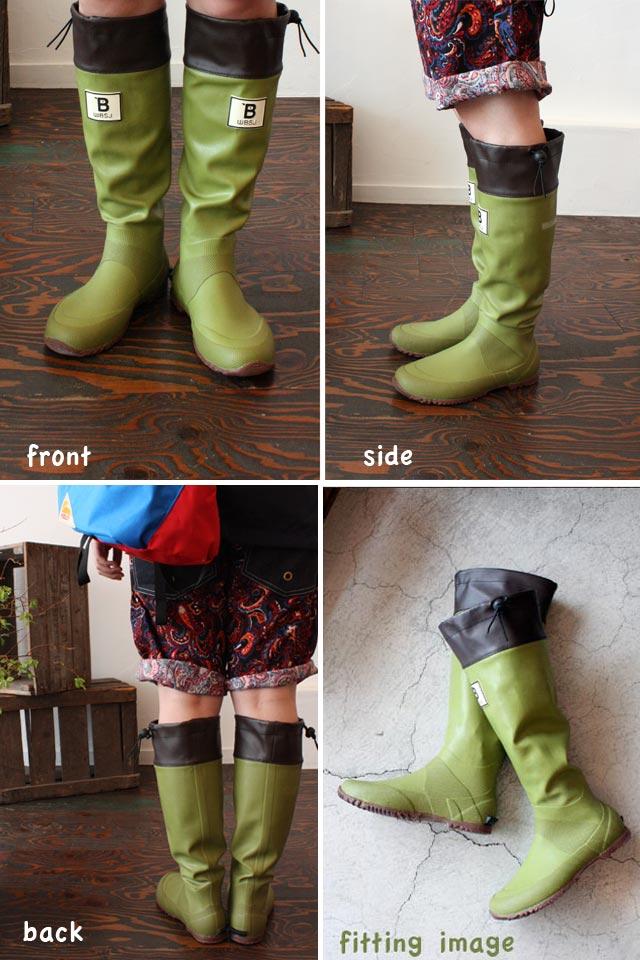 Japan Society of Wild Bird Rain Boots