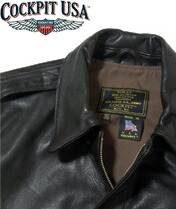 【COCKPIT USA】Official USAF 21st Century A-2 Jacket