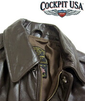 【COCKPIT USA】WWII Government Issue A-2 Jacket