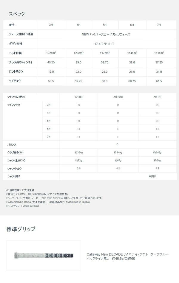 【2月発売 予約販売】【送料無料】 キャロウェイゴルフ 2016 メンズ XR OS ユーティリティ オリジナルカーボンシャフト [Callaway]