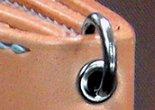 サドルレザー 革製品 牛革 ハトメ