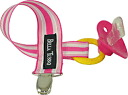 ★ big success as Bella Tunno ★ toy holder ♪ fashionable pacifier holder (Princess Stripe)