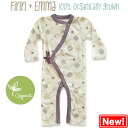 Finn+Emma 100% organic quality high quality diffrence coveralls (Flower design)
