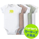 Carter's genuine ★ peace of Carter's short sleeve Bodysuit 5 pair set Bodysuit rompers underwear ( Border Animals )
