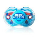 ★ Razbaby ★ dropped fine Keep-it-Kleen pacifier (blue air plane)