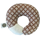 The Babymoon baby moon / cocoa clover which the form of the baby pillow head improves