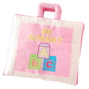Cloth toys, cloth book my alphabet (Pink) fun and friendly letters to learn! 1-Year-old girl: her 2-year-old woman