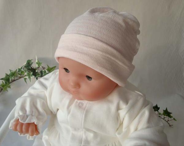 小孩帽子☆彩色粉笔边缘☆棉100%(梨子地编织物素材使用)《69902》
