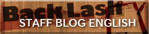 『BACKLASH JAPAN』staff blog