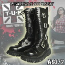 It is recommended for 4 TUK BUCKLE HI BOOT A6072 George coxswains and ヨースケ enthusiast! The sneakers rubber sole which is a flat! Shoes, shoes