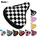 Wear; a special price sale deep-discount bicycle saddle cap bicycle CAP pretty fashion Takeo waterproofing cushion mail order / regular article the next reviewing it to two points!for Kawasumi Kawasumi saddle cover bicycle cap bicycles