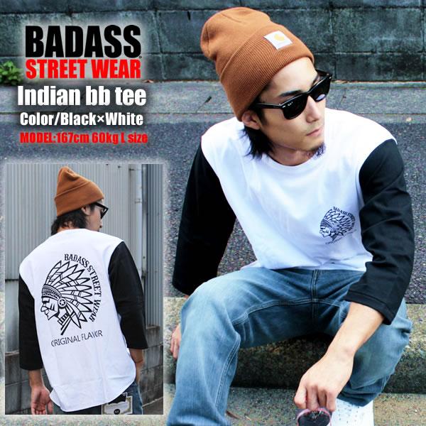 BADASSストリート系インディアンデザイン
