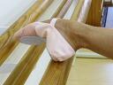 Chacott front leather ballet shoes 22.0 cm ~ 26... 0cm5P13oct13_b