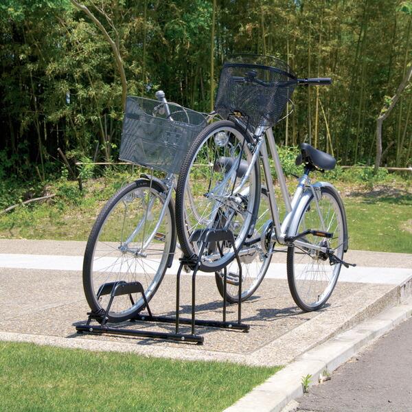 自転車の 自転車 駐輪 スタンド 4台 : 自転車スタンド BYS-2人気商品 ...