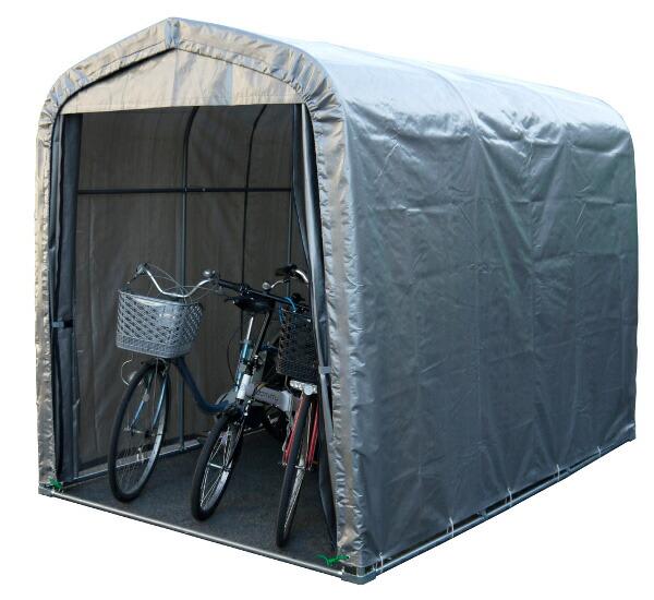自転車の 物置 自転車収納 diy : 機 耕運機 置き場 収納 物置 ...