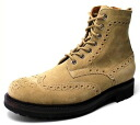 Time-limited country boots men boots real leather leather wing tip medallion suede suede cloth