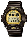 Time-limited watch men Casio CASIO G-SHOCK G-Shock foreign countries model reimportation ガリッシュゴールドシリーズ 20 standard atmosphere waterproofing diving clock watch sports gold
