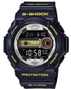 Time-limited watch men Casio CASIO G-SHOCK G-Shock foreign countries model reimportation G-LIDE ジーライドタイドグラフムーンデータ 20 standard atmosphere waterproofing diving clock watch sports violet