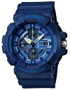 It is point 3 times time-limited watch men Casio CASIO G-SHOCK G-Shock foreign countries model reimportation chronograph analog 20 standard atmosphere waterproofing clock watch sports blue ※ fu in an entry