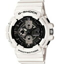 It is point 3 times time-limited watch men Casio CASIO G-SHOCK G-Shock foreign countries model reimportation chronograph analog 20 standard atmosphere waterproofing clock watch sports white black ※ fu in an entry