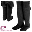 The elegant knee high boots which is good to No.344260bl/ adult woman! fs3gm10P22Nov13