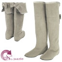 The elegant knee high boots which is good to No.344260lgy/ adult woman! fs3gm10P22Nov13
