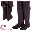 The elegant knee high boots which is good to No.344260pl/ adult woman! fs3gm10P14Nov13