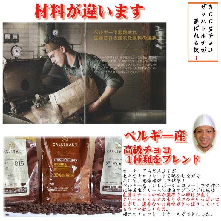 チョコレートケーキの材料