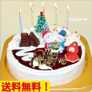 クリスマスケーキ生クリームケーキ6号