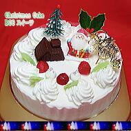 人気の生クリームデコレーション|クリスマスケーキ5号