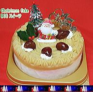 モンブラン・クリスマスケーキ5号