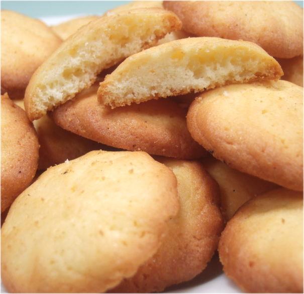 ココナッツミルクの手づくりクッキー