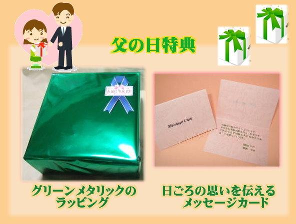 通常210円のプレゼント・ラッピングも無料!
