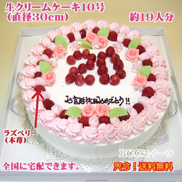 大きいバースデーケーキ・大きい誕生日ケーキ