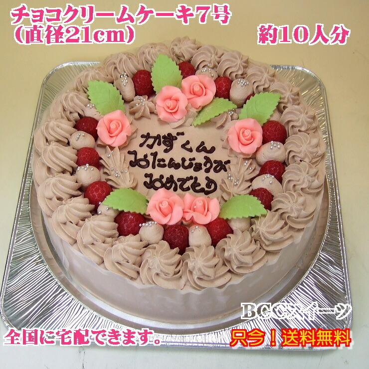 チョコレートケーキ/大きいバースデーケーキ・大きい誕生日ケーキ
