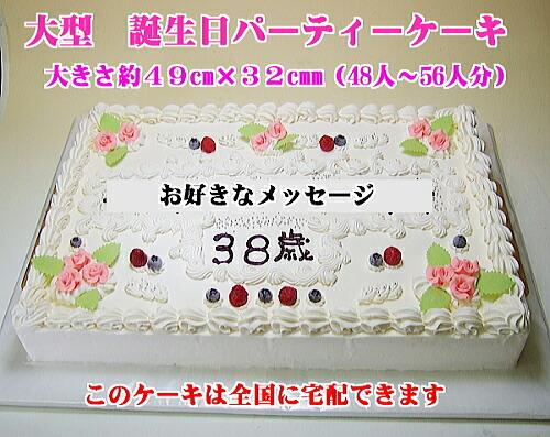 特大バースデーケーキ