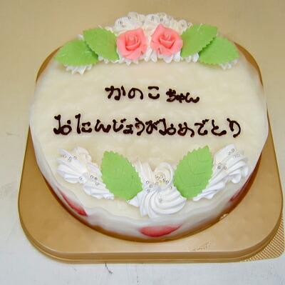人気の誕生日ケーキ