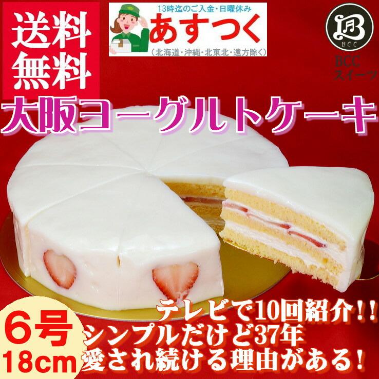 大阪ヨーグルトケーキ6号ホールケーキ