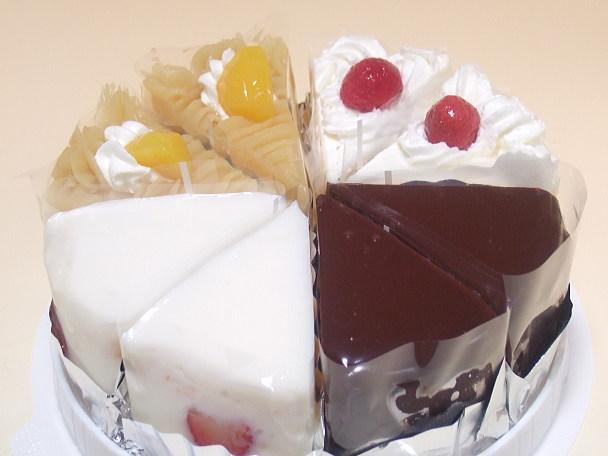 味のお試しカットケーキ